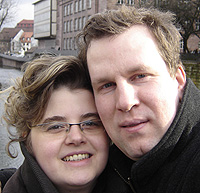 Yvonne & Michael in Nürnberg, 31.12.2007