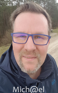 Photo:  Michael im März 2019